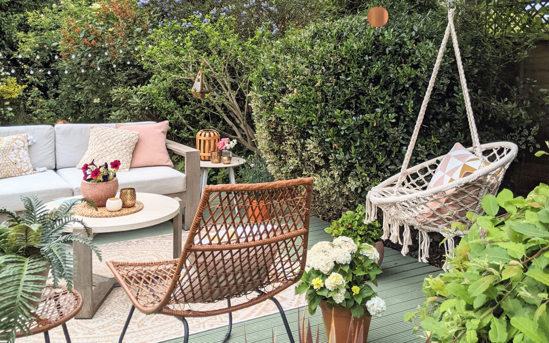 Summer Deck Refresh with Boho Accents