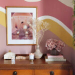 How to Create an Organic Colour Block Wall
