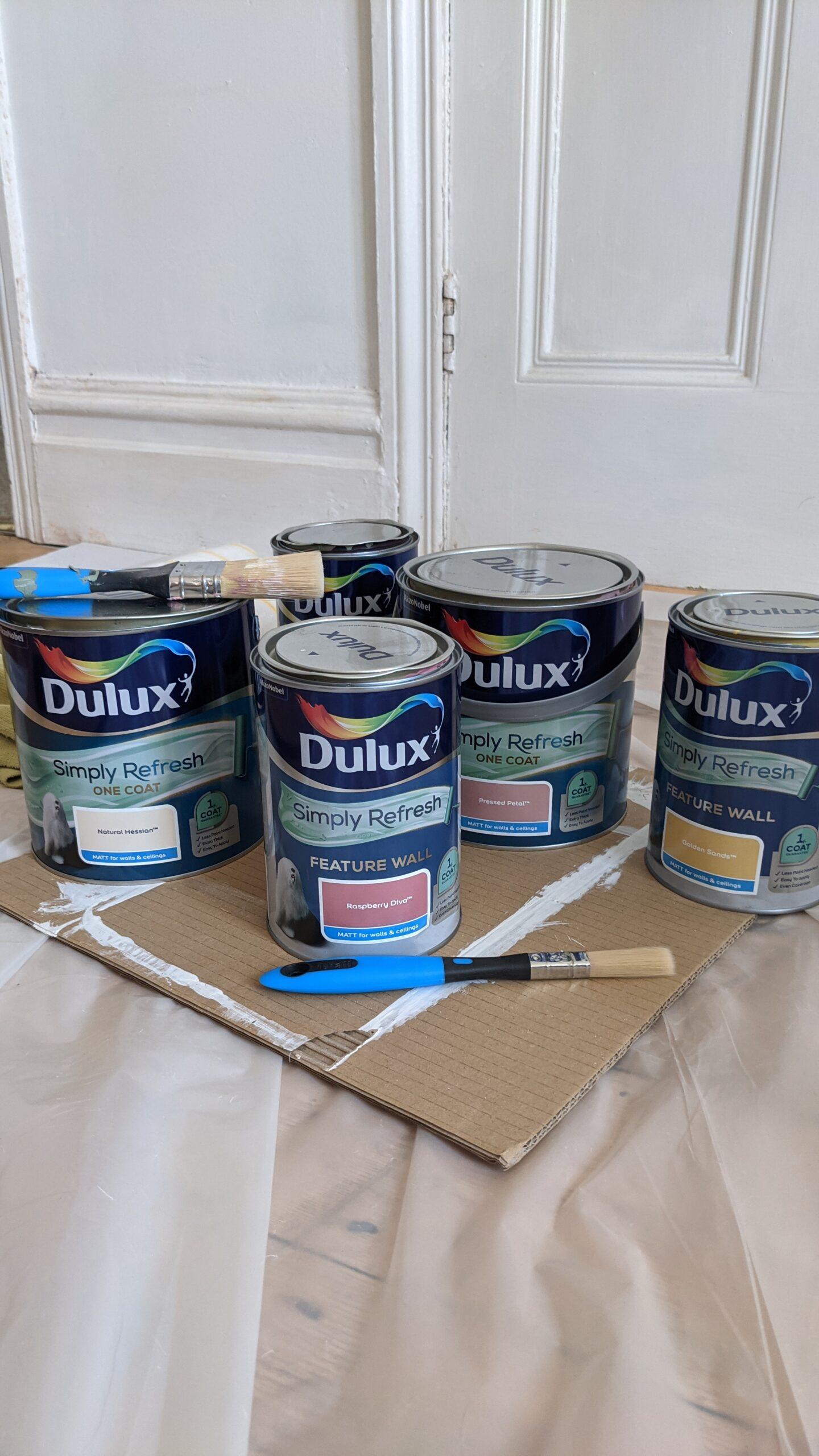 Dulux Simply Refresh Range One Coat Paint